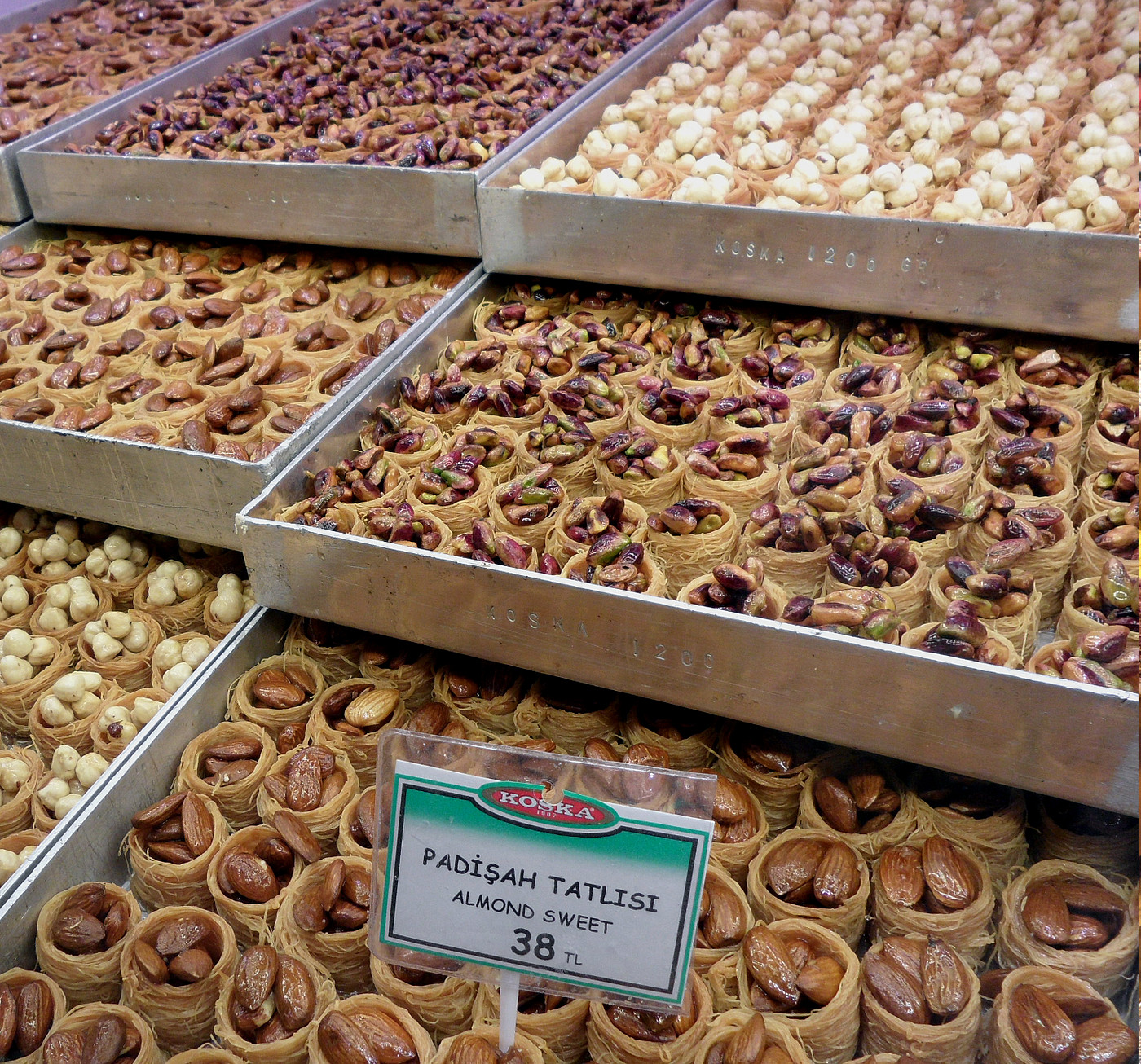 Delicious Turkish sweets. Photo: Juliane Krenz